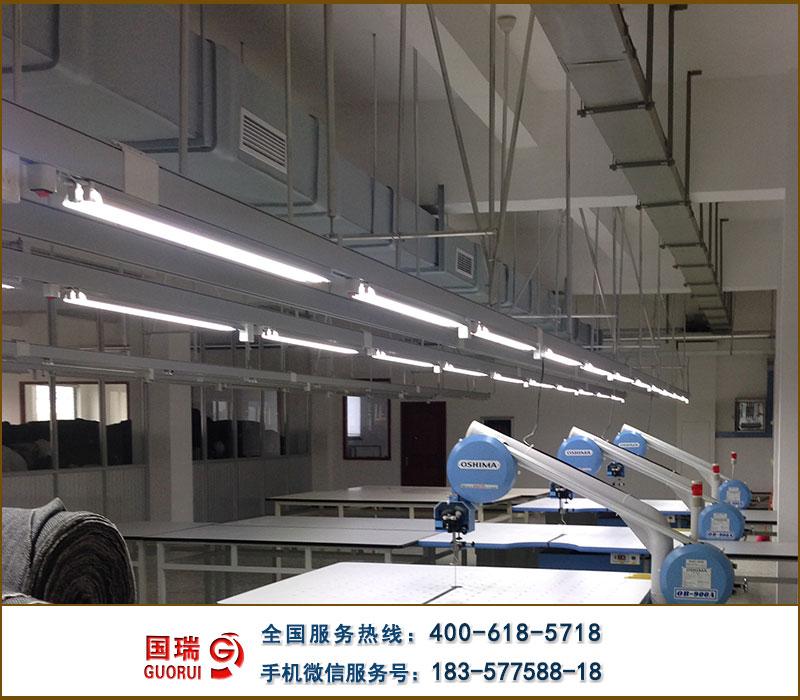 服裝廠裁剪車間照明供電