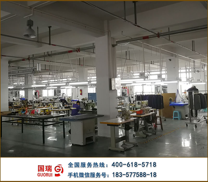 服裝廠照明供電方案